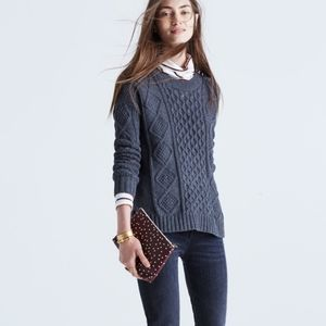 Madewell Classic Cable Sweater